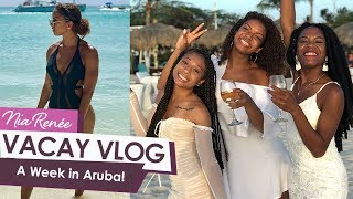 ARUBA TRAVEL VLOG! A Week In Paradise   Nia Renée