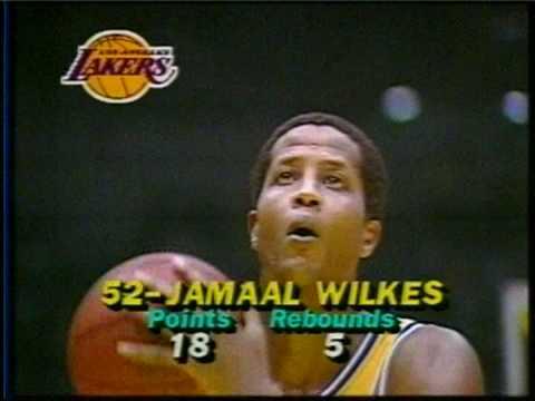 Best NBA shot ever-Jamaal Wilkes