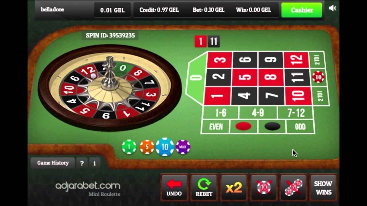Casino mini roulette table free fake slot machines