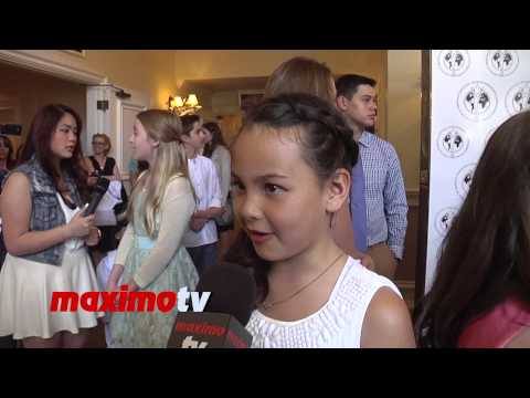 Erika Forest  Young Artist Awards 2014 Red Carpet