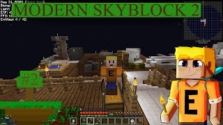 Modern Skyblock 2 - Before the Automation