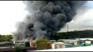 Incendio a via del fosso della magliana 2