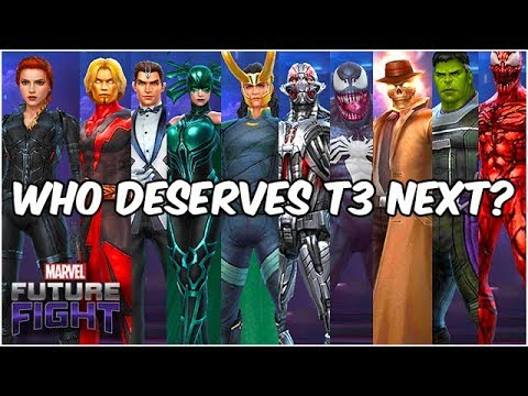 TEN BEST PICKS FOR FUTURE AWESOME TIER 3! UPDATE DREAMS - Marvel Future Fight