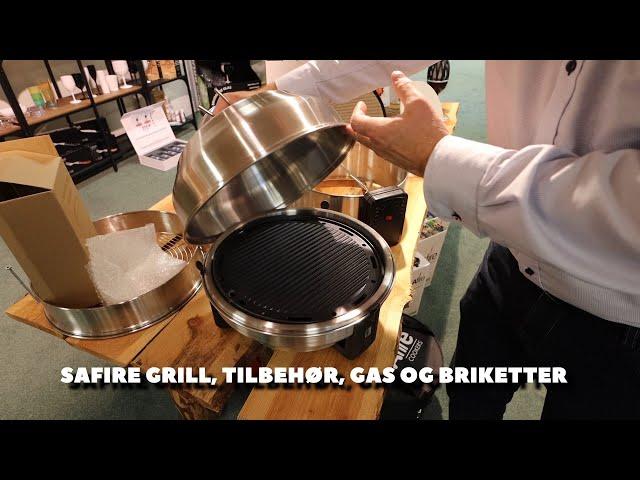 SAfire grill modeller og tilbehør