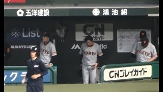 2017年6月8日(木)メットライフドーム 埼玉西武ライオンズvs東京読売ジ...