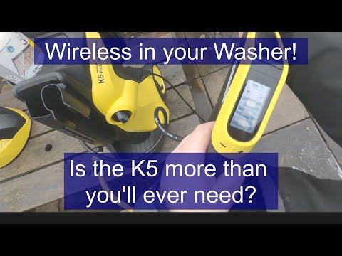 Karcher K5 pressure washer unboxing Setup and Demo