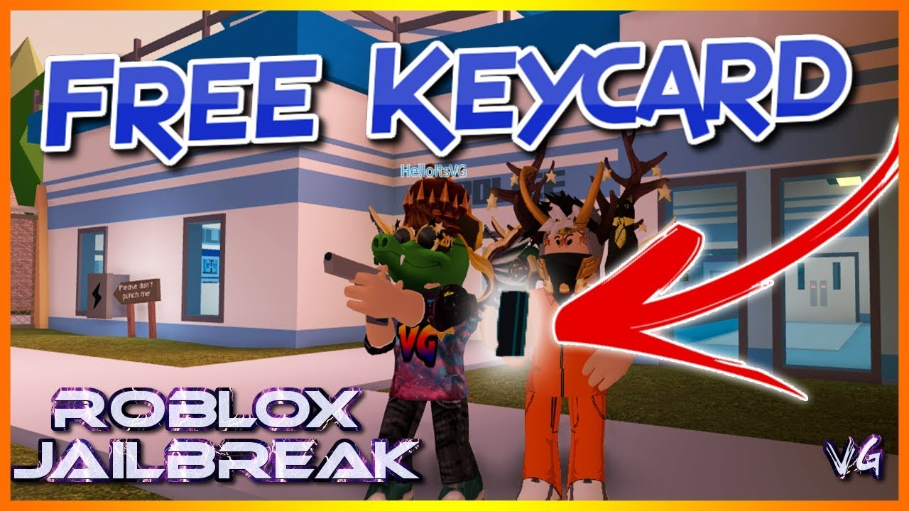 Roblox Jailbreak How To Get A Keycard By Yourself New Method Youtube
