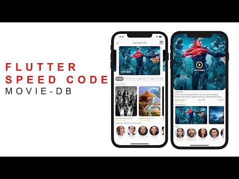 Flutter Speed Coding - Create Movie DB App using Flutter.