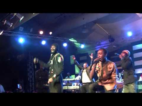 IWAN & KAY TEE FREESTYLE @ RESOLUTION 2012 CONCERT ghamaicans@gmail com