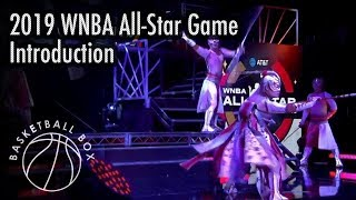 [WNBA] WNBA All-Star Game 2019, Introduction, July 27, 2019