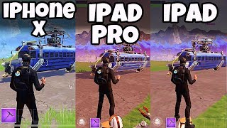 iphone x fortnite lets play