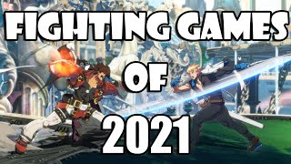 Your guide to tнe Fighting Games of 2021
