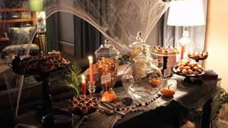Diy Halloween Buffet Decorating Ideas