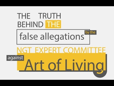 The Art Of Living, The Yamuna and The Great Expose!