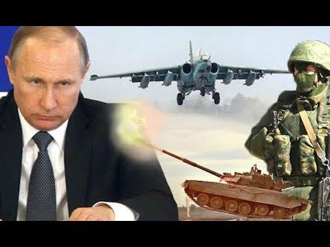 Putin Russian Military buildup preparing for WAR Breaking News February 2018