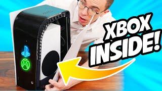 Ek het 'n Xbox in 'n PS5 gebou!