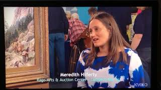 Woman discovers her painting is worth $200,000