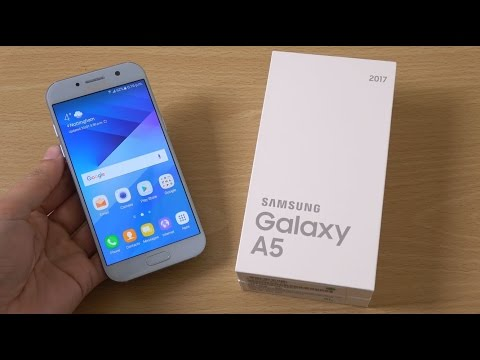 Samsung Galaxy A5 2017 - Unboxing & First Look! (4K)