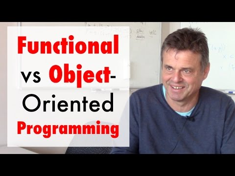 Functional versus Object-Oriented Programming (ft. Martin Odersky)
