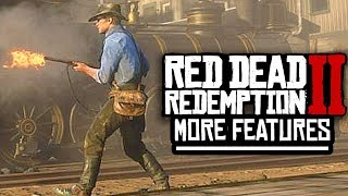 Red Dead Redemption 2 - MORE GREAT GAMEPLAY DETAILS, COMBAT & GUN STORES!