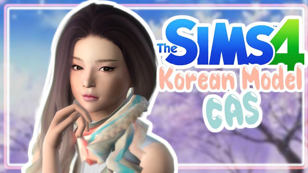 Sims 4 Create A Sim || Korean Model - YouTubeKorean Toddler Cc Sims 4