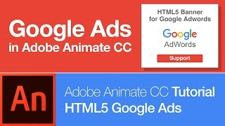 Animate CC: Create HTML5 Banner for Google Adwords (FREE DOWNLOAD)