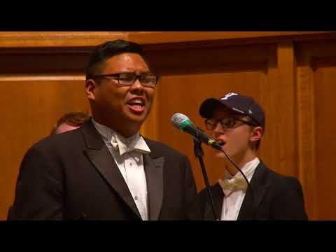 Rainbow Connection - The Yale Whiffenpoofs of 2018