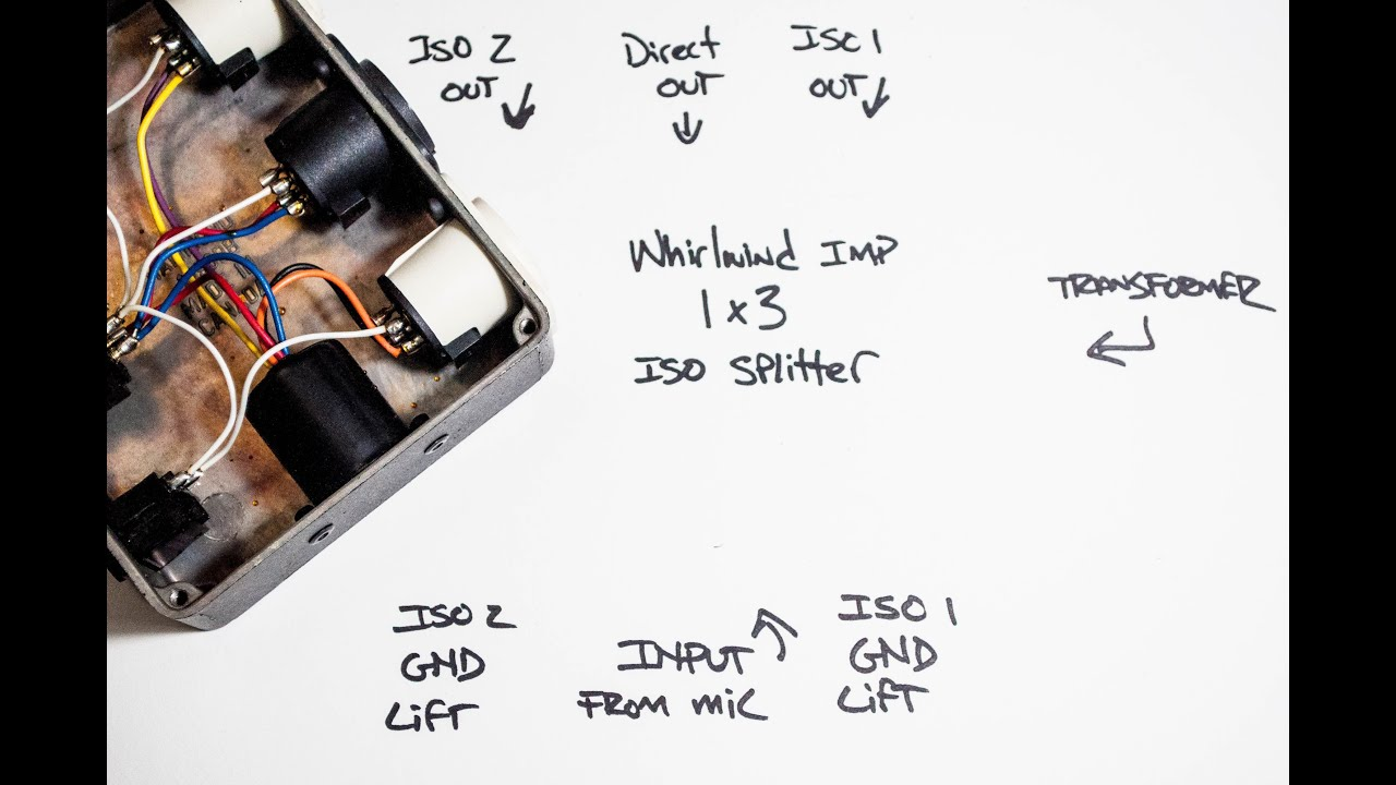 #021 Transformer Isolated Pive Mic Splitters! on