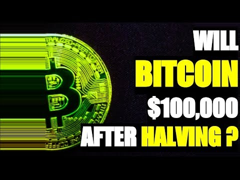 Is $100,000 Bitcoin Price Possible after Next Bitcoin Halving in 2020 ?