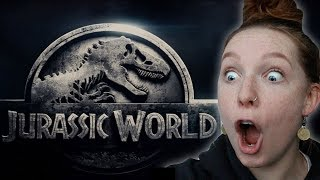 JURASSIC WORLD 2 MOVIE TRAILER REACTION!