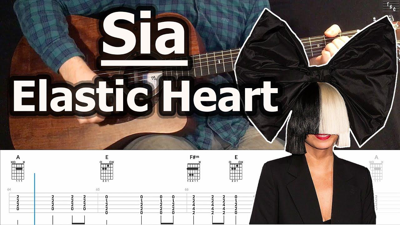 Sia   Elastic Heart   Guitar Chords Tutorial