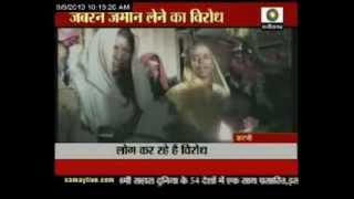 Farmers satyagraha in katni, MP