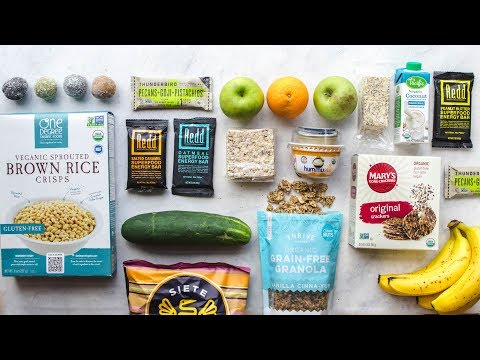 My Favorite Travel Snacks | Healthy & Vegan