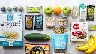 Here are my top healthy and travel-friendly vegan snacks! these perfect for road trips, camping, even long flights. if you live in the us, click this...