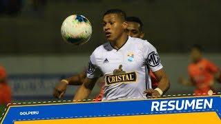 Resumen César Vallejo vs Sporting Cristal (2-3)