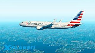 ОТМЕНЕННЫЙ ВЗЛЕТ AA241! / KBOS (Boston Intl.) - KJFK / ZIBOMOD BOEING 737 | X-Plane 11 #8