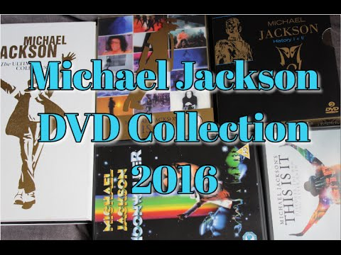 Michael Jackson DVD Collection // April 2016