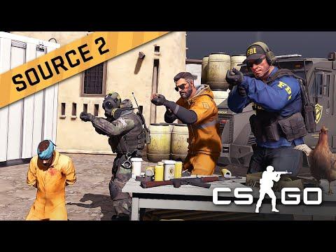 Как я портировал CS:GO на Source 2 и что мне удалось найти в процессе
