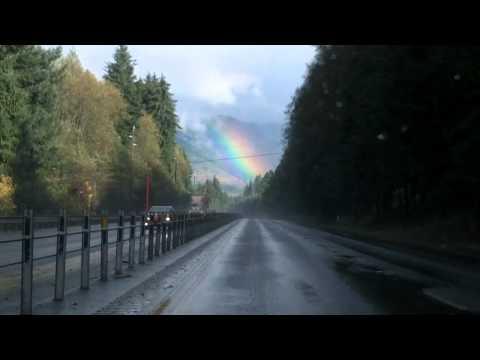 HWY 26 Rainbow Driving w Kodak Playsport