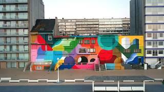 Gambar cover Oli-B - Mural painting in Nieuwpoort (BE)