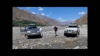 Памирский тракт на внедорожниках - путешествие в Азию 2016