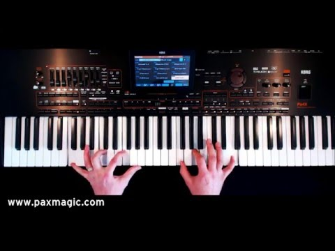 PaX Magic - Classical Organ Showcase - Keyboard Set Regsitrations for Korg Pa4X
