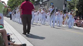 FIMMQ 2013-  Military Parade- National Band of the Naval Reserve.