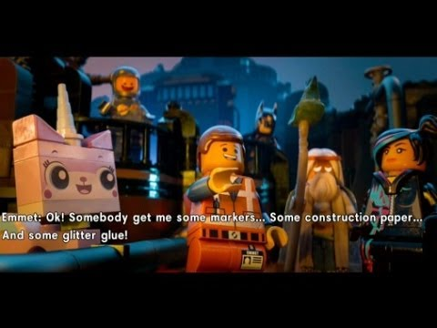 The LEGO Movie Videogame Walkthrough Part 12 - Infiltrate the ...