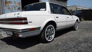 1988 Buick Century limited 3.8 V6 exhaust sound