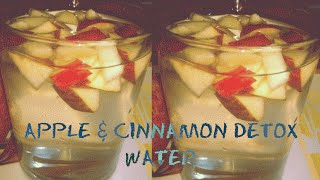 Apple and Cinnamon Detox Water For Weight Loss || weight loss without exercise 100% effective