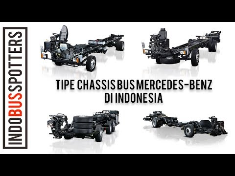 TIPE-TIPE CHASSIS MERCEDES-BENZ DI INDONESIA 2017