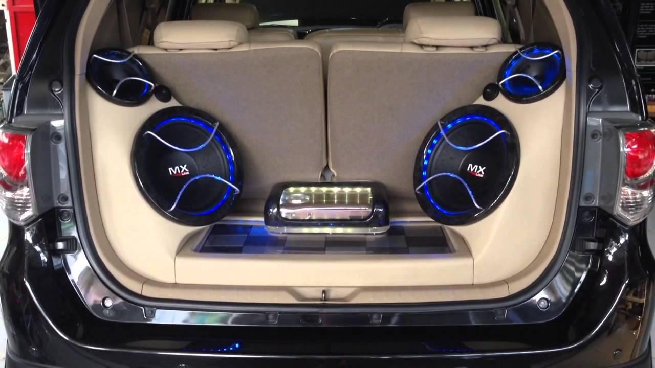 Audio mobil fortuner SQ  Loud  Innovation car audio