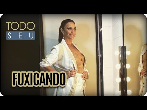 Fuxicando: Gravidez Ivete Sangalo, Eliana - Todo Seu (14/09/17)