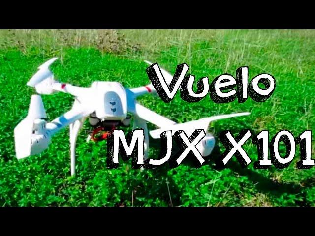 VUELO DRONE MJX X101 EN ESPAÑOL: Mejores drone / quadcopter calidad precio